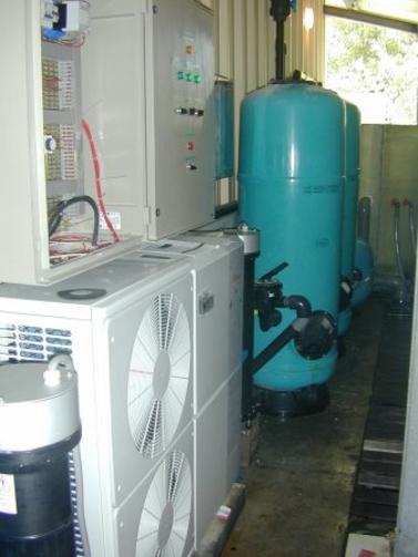 Installation de traitement de l'eau de mer